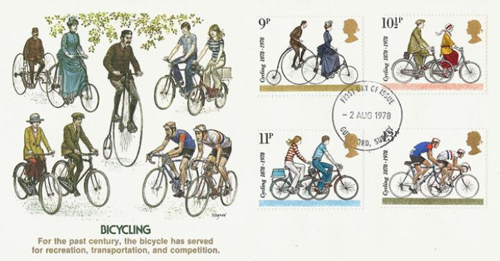 Cycling Centenaries, Bicycling