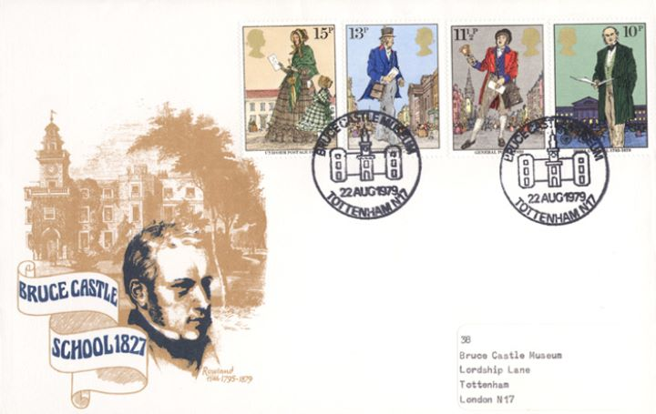 Rowland Hill: Stamps, Bruce Castle Museum