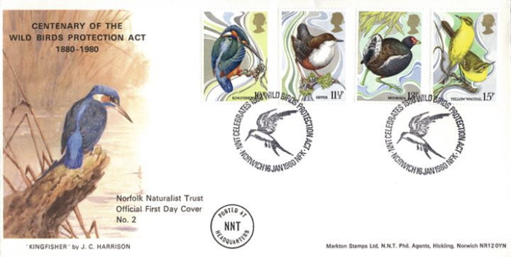 British Birds 1980, Norfolk Naturalists Trust