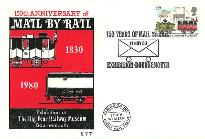 Mail by Rail, 150th Anniversary