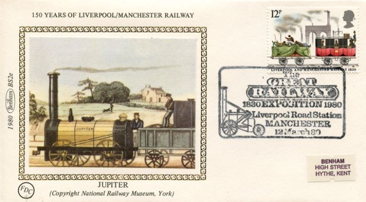 Liverpool & Manchester Rly, 'Jupiter'