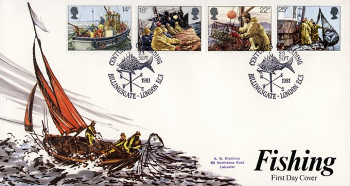 Fishing, Special Handstamps