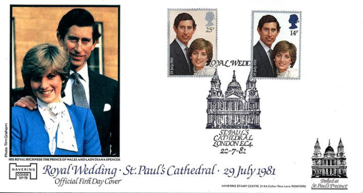 Royal Wedding 1981, St Paul's Cathedral