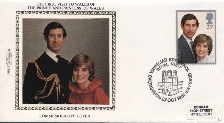 The First Visit to Wales, The Prince and Princess of Wales