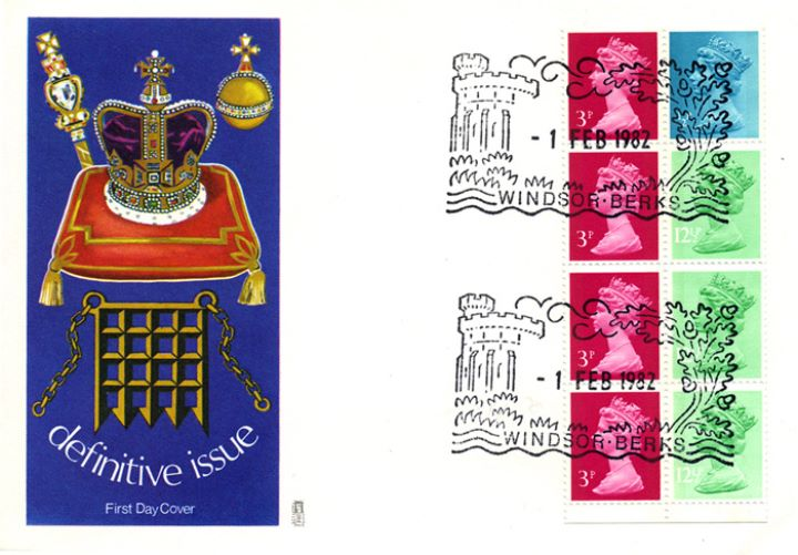 Vending: New Design: 50p Follies 3 (Paxton's Tower), Coronation Regalia