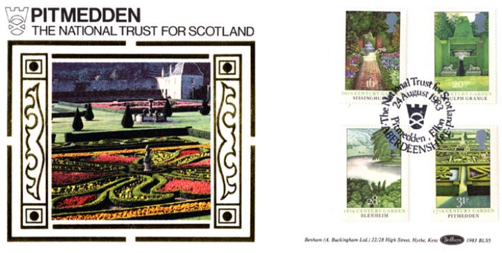 British Gardens, Pitmedden - National Trust for Scotland