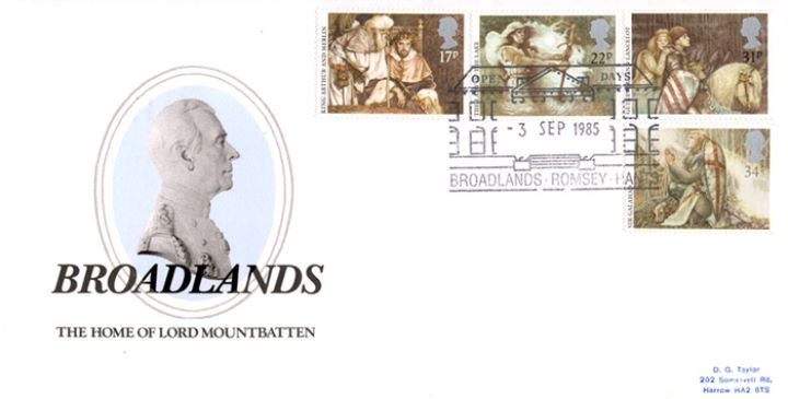 Arthurian Legend, Broadlands - Mountbatten