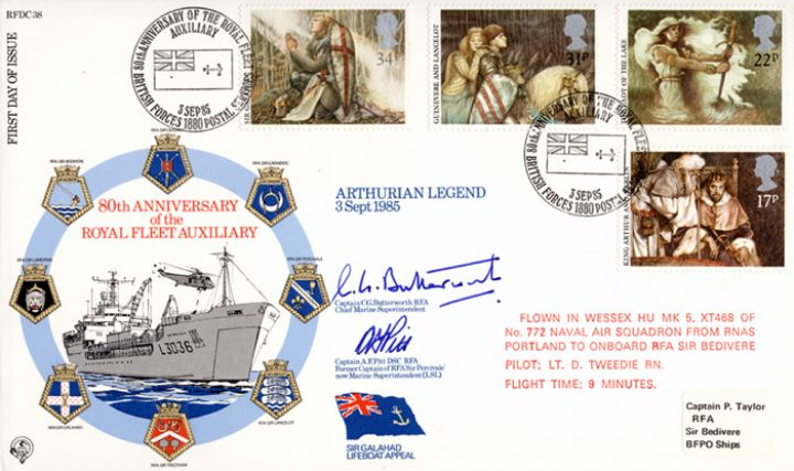 Arthurian Legend, Royal Fleet Auxiliary