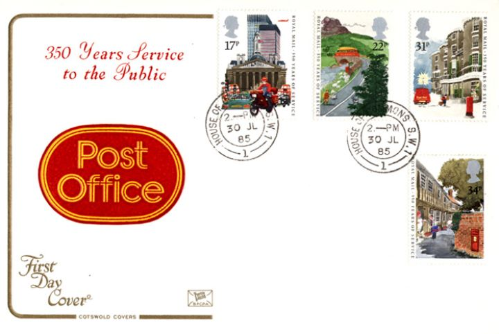 The Royal Mail, Post Office