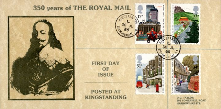 The Royal Mail, Charles I