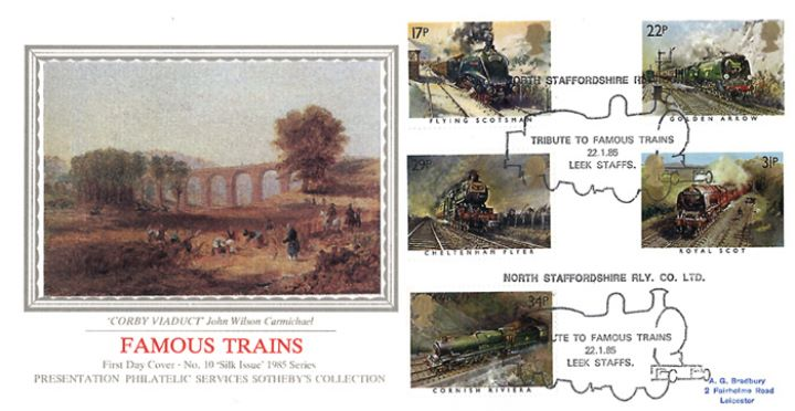 Famous Trains, Corby Viaduct