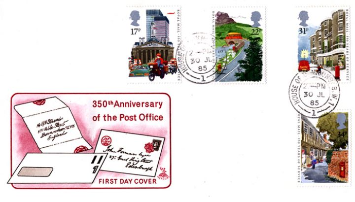 The Royal Mail, Postal History items and Letters