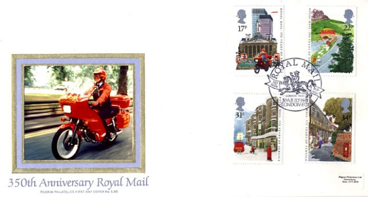 The Royal Mail, Datapost Rider