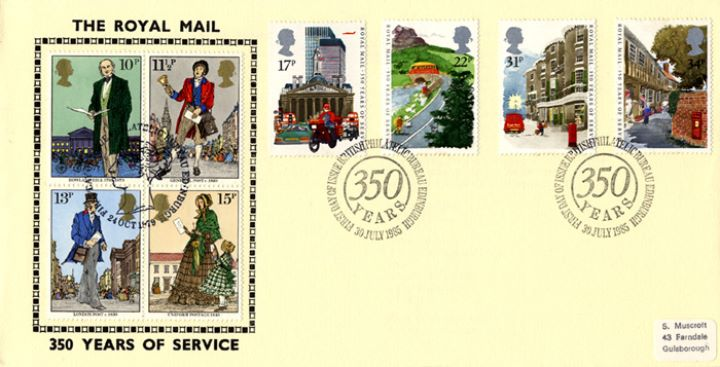 The Royal Mail, Rowland Hill