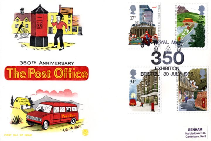 The Royal Mail, Postboy and Post Bus