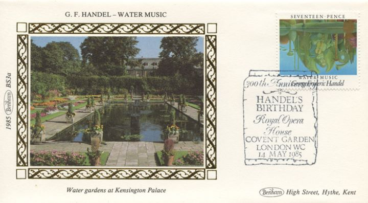 British Composers, Water gardens at Kensington Palace