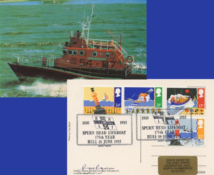 Safety at Sea, Humber Lifeboat Postcard