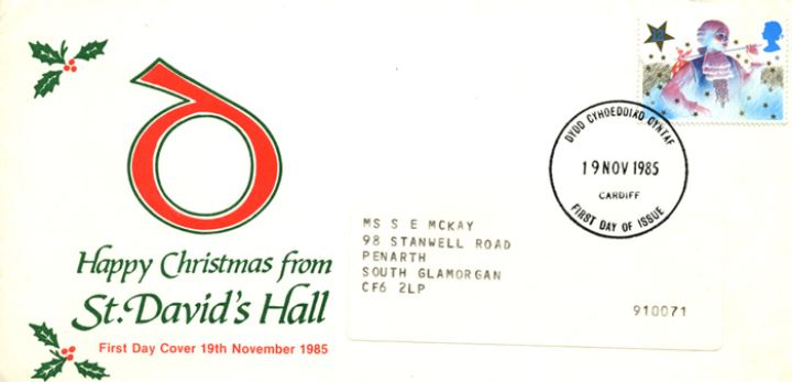 Christmas 1985, St. David's Hall