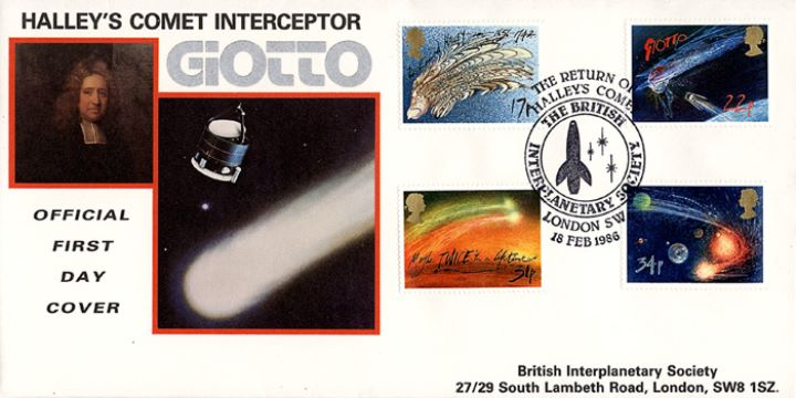 Halley's Comet, British Interplanetary Society