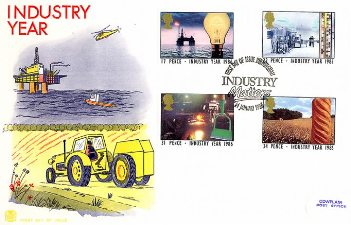 Industry Year, North Sea Oil and Farming