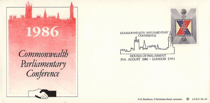 Parliament 1986, Commonwealth Parl. Conference