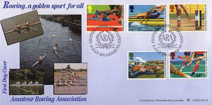 Commonwealth Games, Amateur Rowing Association