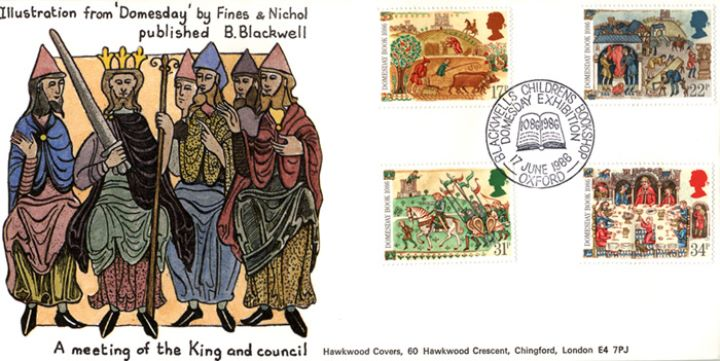 Medieval Life, A Meeting of the King and Council