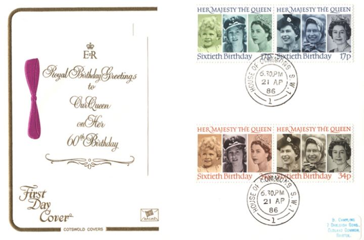Queen's 60th Birthday, Royal Birthday Greetings