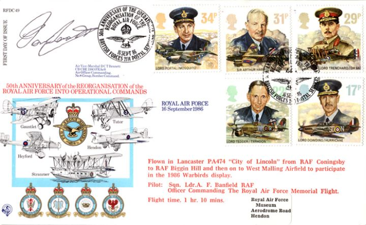 Royal Air Force, Reorganisation of RAF