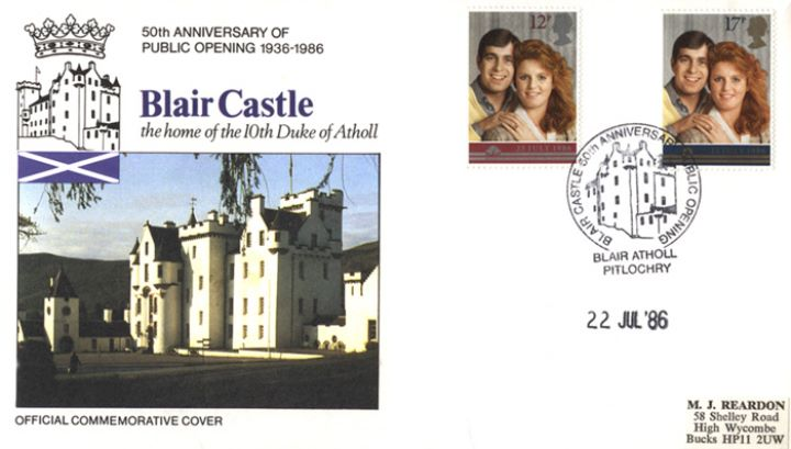 Royal Wedding 1986, Blair Castle