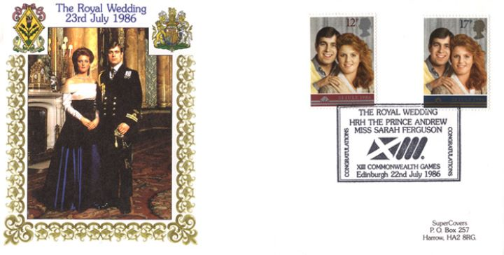 Royal Wedding 1986, Official Wedding Portrait