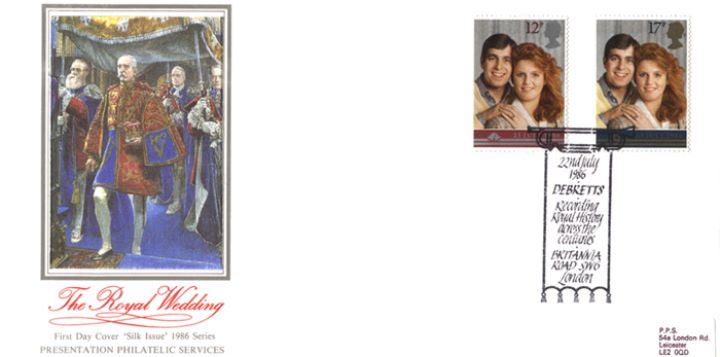 Royal Wedding 1986, Royal Pageantry