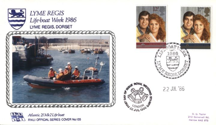 Royal Wedding 1986, Lyme Regis Lifeboat Week