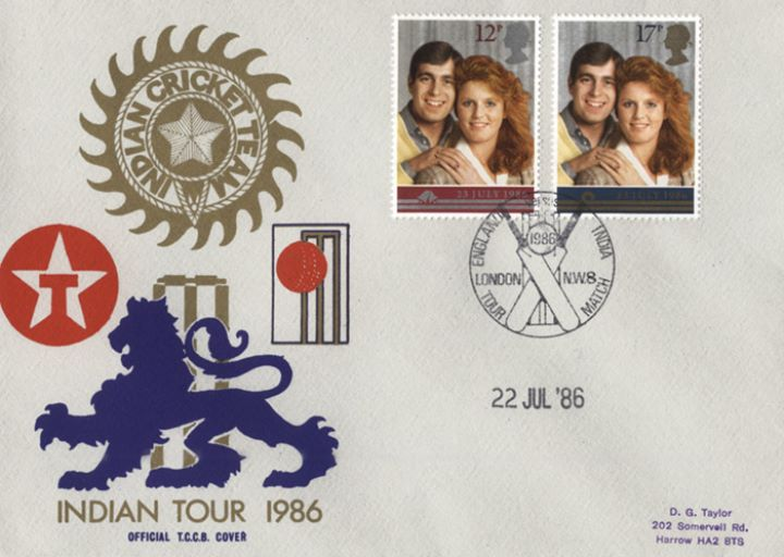 Royal Wedding 1986, Indian Tour