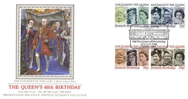 Queen's 60th Birthday, The Standard of England