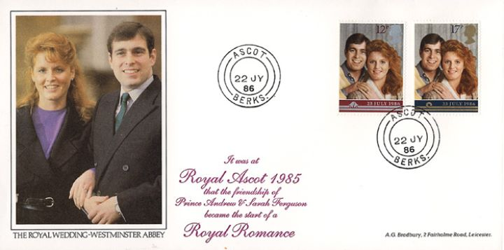 Royal Wedding 1986, Royal Ascot