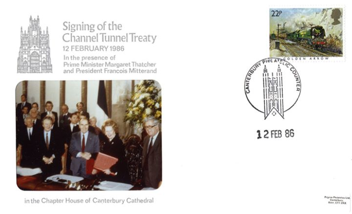 Channel Tunnel, Signing of the Treaty