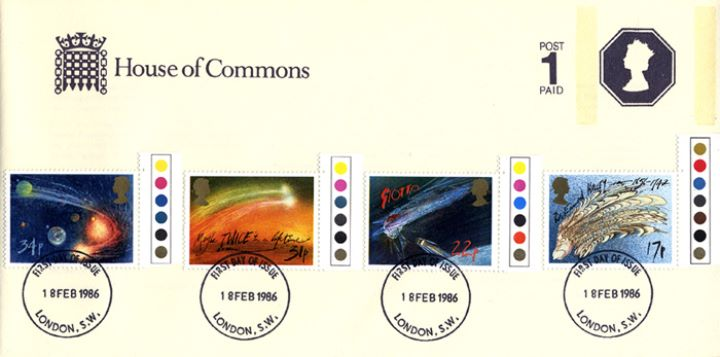 Halley's Comet, House of Commons Stationery
