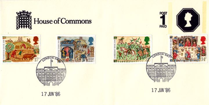 Medieval Life, House of Commons Stationery