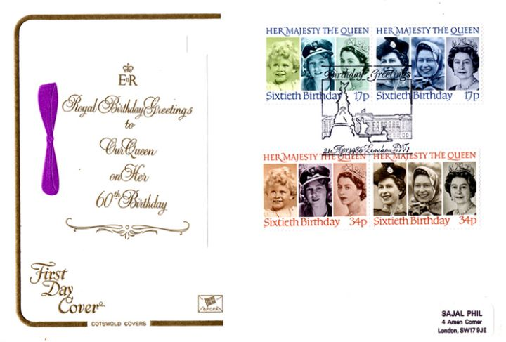 Queen's 60th Birthday, A Royal Birthday Card