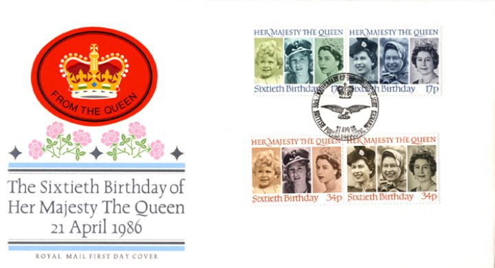 Queen's 60th Birthday, The Crown