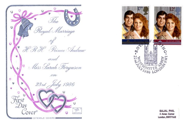 Royal Wedding 1986, Ribbons, Bells, Horseshoes & Hearts