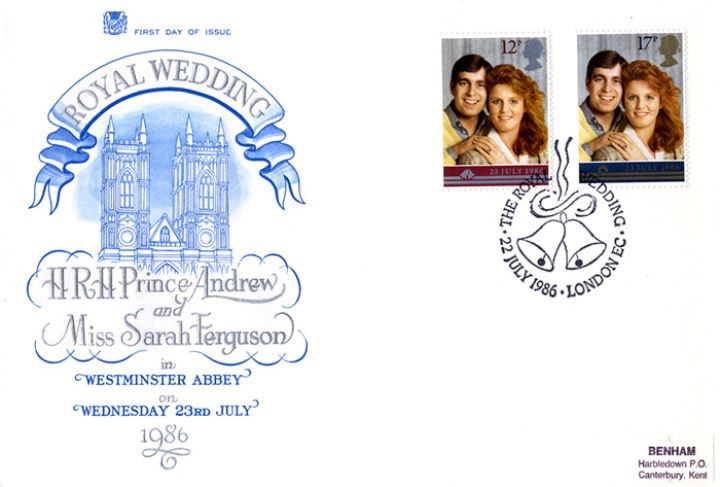 Royal Wedding 1986, Westminster Abbey