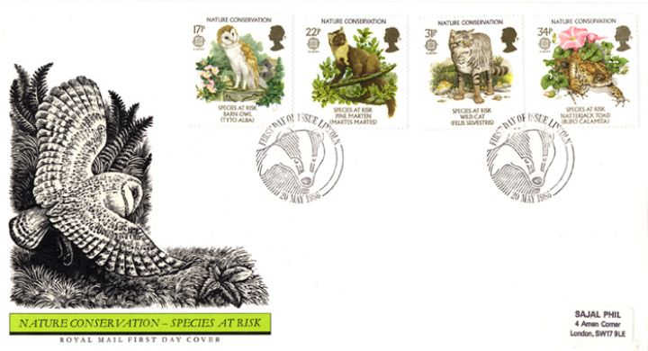 Species at Risk, Special Handstamps