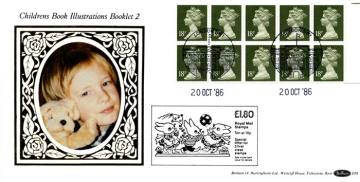 Counter: New Design: £1.80 Rabbits, Child and Teddy