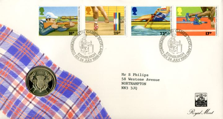 Commonwealth Games, Coin Cover