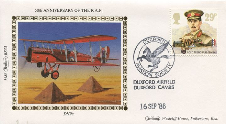 Royal Air Force, DH9a