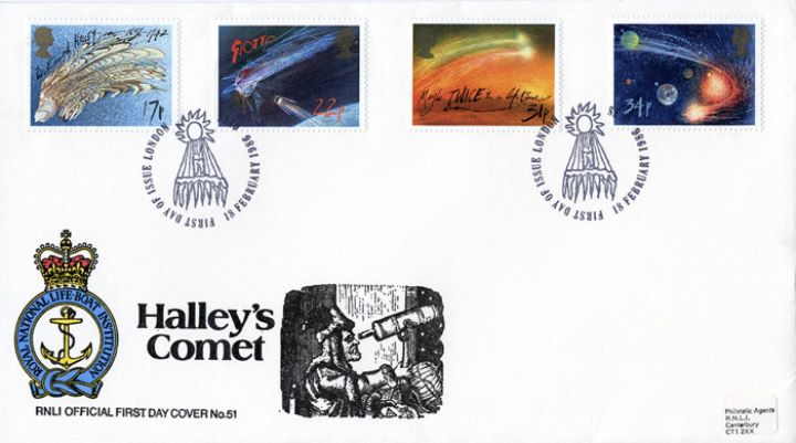 Halley's Comet, RNLI Official