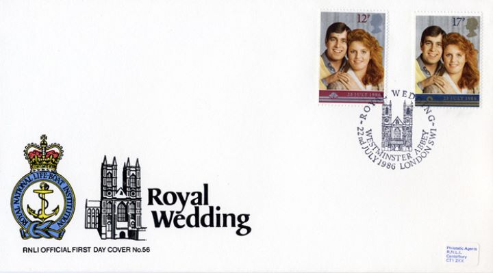 Royal Wedding 1986, RNLI Official