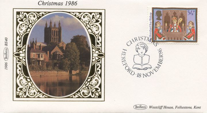 Christmas 1986, Hereford Boy Bishop